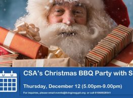 Christmas BBQ Party with Santa at Community Services Association