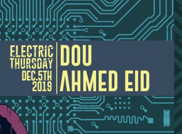 Dou and Ahmed Eid at Cairo Jazz Club 610