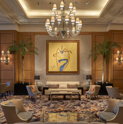 New Year's Eve Dinner @ Lobby Lounge: Four Seasons Hotel Cairo At Nile Plaza