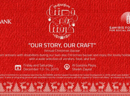 'Our Story, Our Craft' Christmas Bazaar at Al Guezira Plaza
