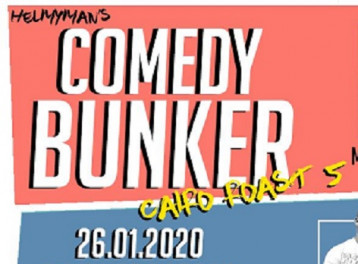 Comedy Bunker at ROOM Art Space New Cairo