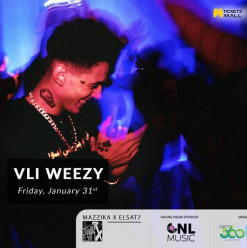 Vli Weezy featuring DJ FatSam at Darb 1718