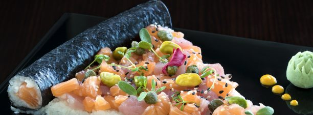 'All You Can Eat Sushi' at Hilton Cairo Heliopolis' Saki Sushi Lounge