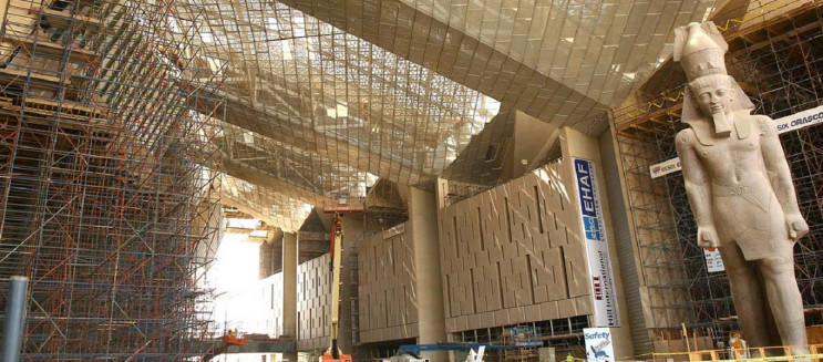 ‎356 Artefacts Just Arrived at Cairo's Grand Egyptian Museum ahead of Grand Opening