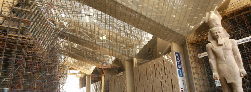 356 Artefacts Just Arrived at Cairo's Grand Egyptian Museum ahead of Grand Opening