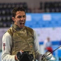 Mohamed Hamza Wins Fencing Golden Medal in Youth Epee World Cup