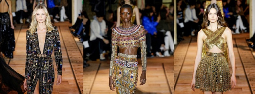In Pictures: Ancient Egypt Inspired Zuhair Murad's Couture Spring 2020 Collection