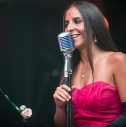 Noha Fekry at Kempinski Nile Hotel Cairo's Jazz Bar