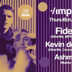 Impulse Featuring Ashmawy, Kevin de Vries, and Fideles at Cairo Jazz Club 610
