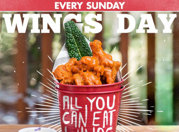'Wings Day' at The Tap West
