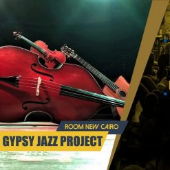 The Gypsy Jazz Project at ROOM Art Space New Cairo