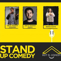 'Beit El Comedy' at ROOM Art Space New Cairo