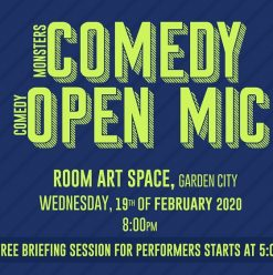 'Comedy Monsters' at ROOM Art Space Garden City