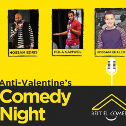Anti-Valentine's Day Stand-Up at ROOM Art Space Garden City