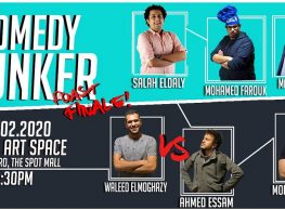 Comedy Bunker Roast Finale at ROOM Art Space New Cairo