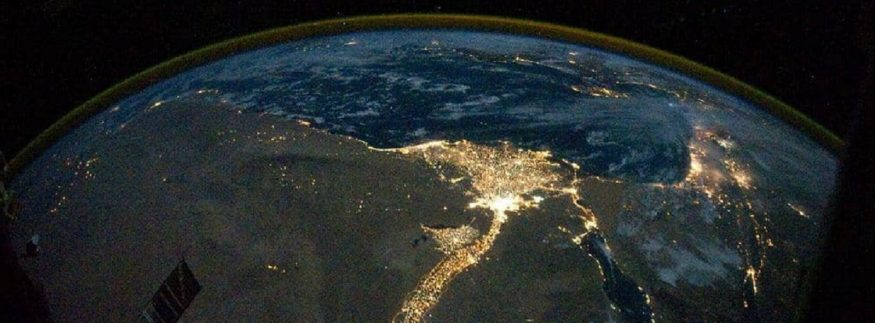"NASA Releases Rare Photo of Egypt's ""Bright Nile""‎"