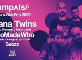 Impulse ft. Sebzz, WhoMadeWho, and Adana Twins at Cairo Jazz Club 610