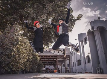 Mime Shows at Gusour Cultural Centre