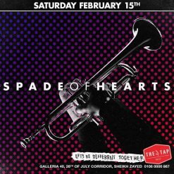 Spade of Hearts at The Tap West