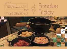 'Fondue Friday' at Cairo Jazz Club 610