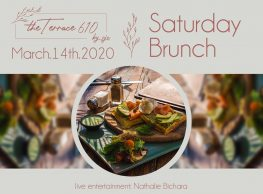 Saturday Brunch Featuring Nathalie Bichara at Cairo Jazz Club 610