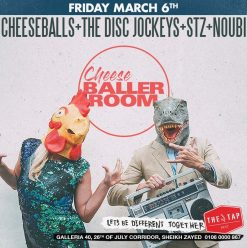 'Cheeseballs' ft. The Disc Jockeys, STZ, and Noubi at The Tap West