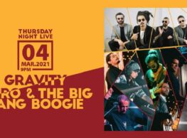 Gravity and Amro & The Big Bang Boogie at Cairo Jazz Club