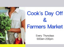 Cook's Day Off & Farmers Market at CSA