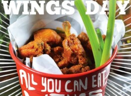 Wings Day at The Tap West