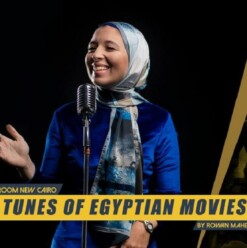 Tunes of Egyptian Movies at ROOM Art Space