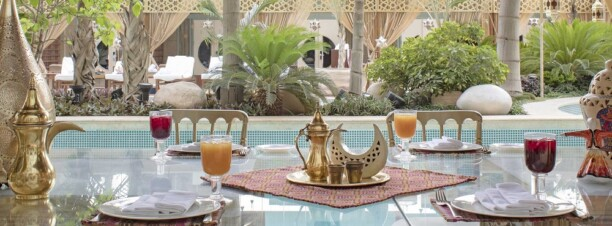 Iftar and Sohour at Four Seasons Hotel Cairo at Nile Plaza's Pool Grill