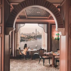 Iftar at Four Seasons Hotel Cairo at Nile Plaza's Zitouni