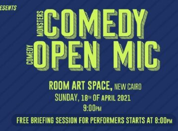 Stand-up Comedy Open Mic at ROOM Art Space New Cairo