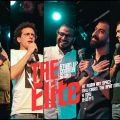 The Elite: Stand-Up Comedy at ROOM Art Space New Cairo
