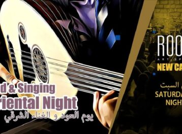 Oriental Oud Night at ROOM Art Space New Cairo