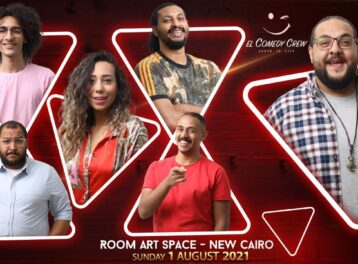 Comedy Crew at ROOOM Art Space New Cairo
