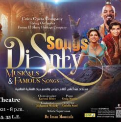 Disney Songs, Musicals, & Famous Songs at Cairo Opera House