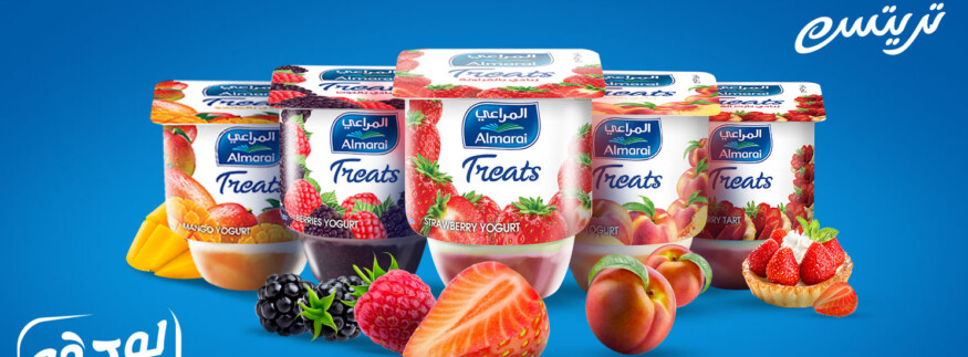 Almarai Treats Yogurt: Sweeten Your Days with Real Fruits and Full Flavours