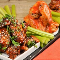Buffalo, Blue Cheese, Bring on the Wings