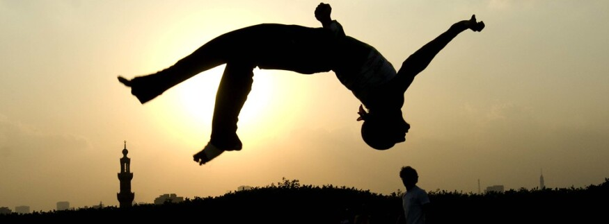 No-Frills Fitness: Parkour in Cairo