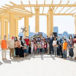 Back-to-School Fun Day for Children's Cancer Hospital at Fairmont Nile City
