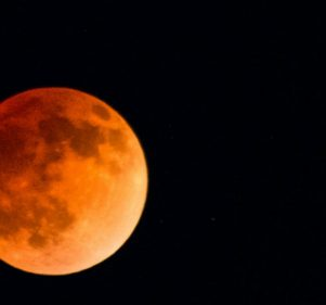 A Total Lunar Eclipse Is Happening Tomorrow, and We Have the Best Viewing Place for You