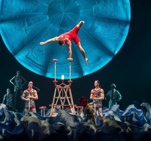 Cirque Du Soleil Performs in Egypt for the First Time 