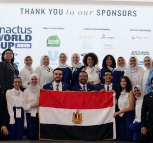 Enactus Cairo Wins First Place in Enactus World Cup at Silicon Valley 
