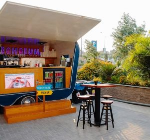 BohoBun: Delicious Burgers on Wheels at Arkan Plaza in Sheikh Zayed