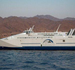 السفر ما بين شرم الشيخ والغردقة بقى متعة حقيقية بفضل الجسر العربي للملاحة